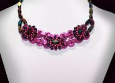 Necklace - Fuchsia