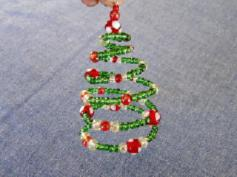 Fir-tree made of wire