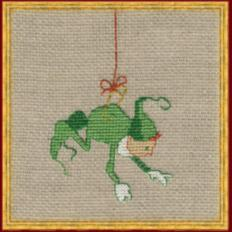 "8-A006 К (Aida) Counted cross stitch kit NIMUЁ ""Mic 2"""
