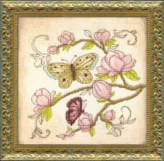 "BT-512 Embellished stitch kit Crystal Art ""Waiting for spring"""