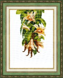 "BT-112 Counted cross stitch kit Crystal Art ""Heady vanilla"""