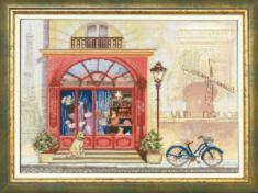"BT-520 Embellished stitch kit Crystal Art ""Journey along France"""