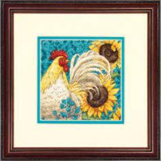 "70-65130 Counted cross stitch kit DIMENSIONS ""Rooster"""