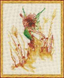 "31-R001 К (Aida) Counted cross stitch kit NIMUЁ ""Petite Fee des Bles"""
