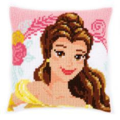 "PN-0168010 Vervaco Cross Stitch Cushion Enchanted Beauty ""Princess Bella"""