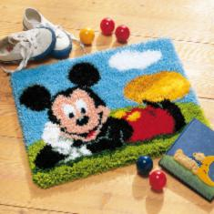 "PN-0014720 Vervaco Latch Hook Rug Disney ""Mickey Mouse"""