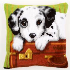 "PN-0153551 Vervaco Cross Stitch Cushion ""Dalmatian"""