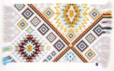 "PN-0155112 Vervaco Cross Stitch Rug ""Rug Ethnic"""