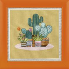 "BT-215 Counted cross stitch kit Crystal Art Triptych ""Bright Mexico"""