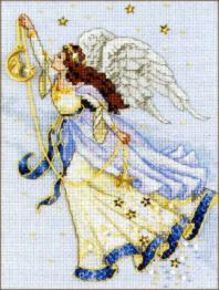"06711 Counted cross stitch kit DIMENSIONS ""Twilight Angel"""