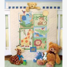 "70-73544 Counted cross stitch kit (blanket) DIMENSIONS ""Savannah"""