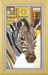 "BT-232 Counted cross stitch kit Crystal Art ""Wild nature"""